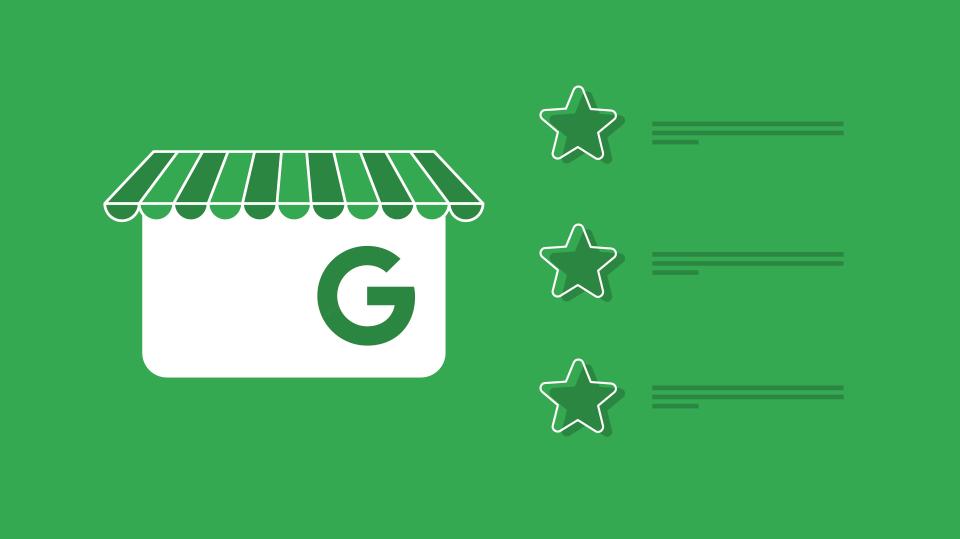 imagen que ilustra ¿Qué ventajas ofrece Google Mi Negocio?, fondo verde e icono de google my business