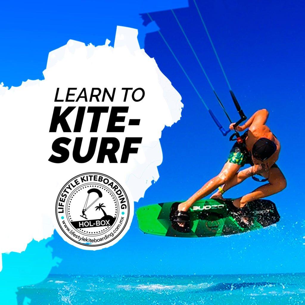 ejemplo publicidad pagada para facebook lifestyle kiteboarding