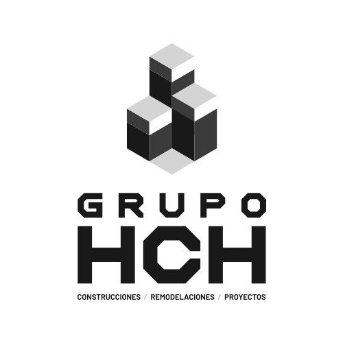 logo Grupo HCH escala de grises