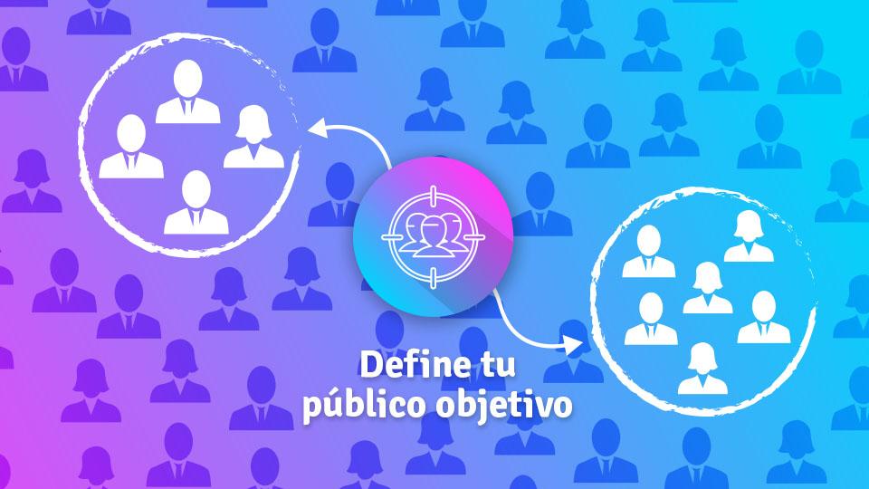 imagen ilustrativa de segmentación para planificar contenido en redes sociales