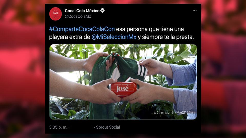 TWITTER COCA COLA MX